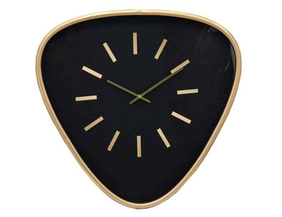שעון קיר משולש - חפצי נוי ודקורציה שעונים