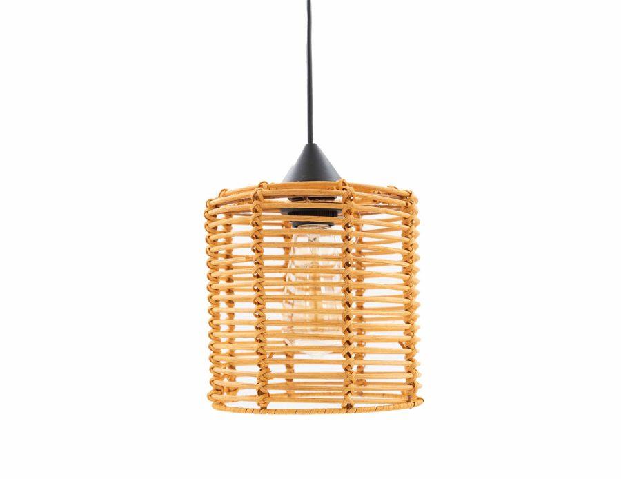 מנורת ראטן 3 תאורה