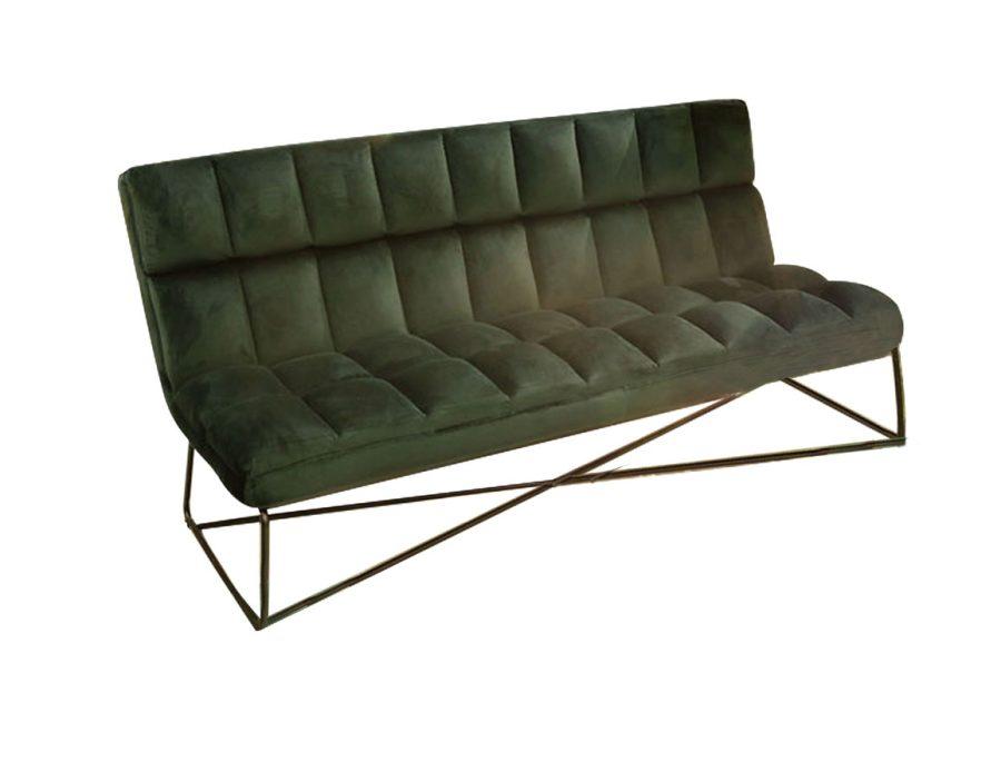 ספה שלישייה ירוקה באפולו