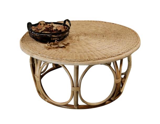 שולחן במבוק מיקונוס לסלון
