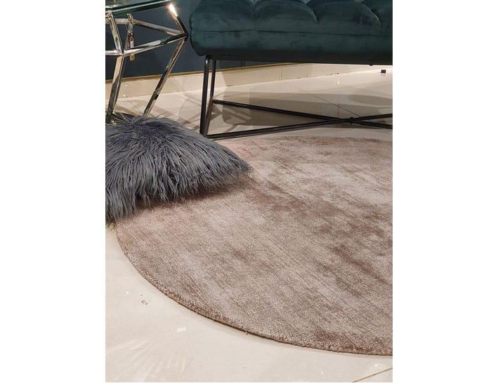 שטיח אופוויט שמנת לסלון עגול