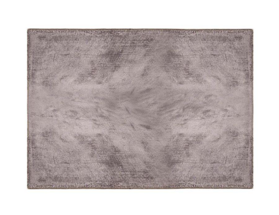 שטיח אפור כהה לסלון ויסקוזה