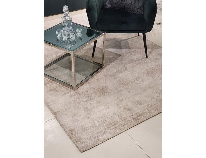 שטיח אפור כסף לסלון ויסקוזה