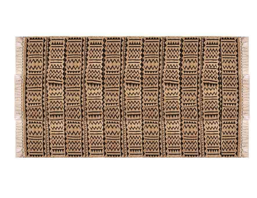 שטיח חבל בעיצוב מודרני בוהו שיק LISA
