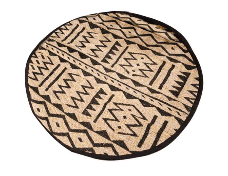 שטיח חבל עגול בעיצוב מודרני ליסה