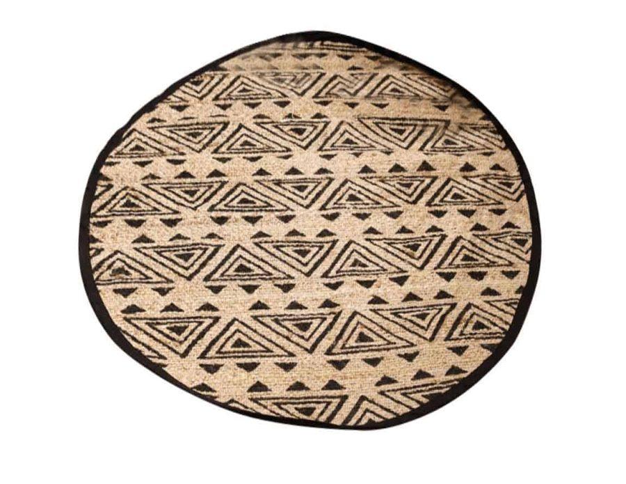 שטיח חבל עגול מודרני