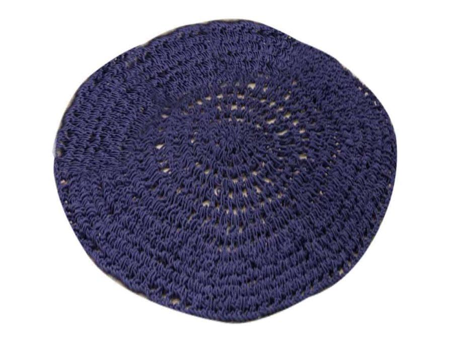 שטיח מקרמה כחול