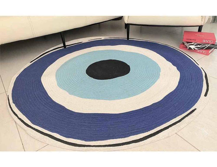 שטיח קמע עין הרע חמסה טורקיז