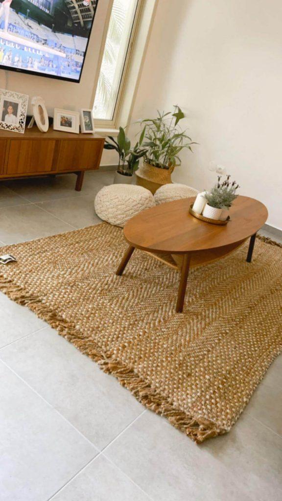 שטיח סאמוס טבעי