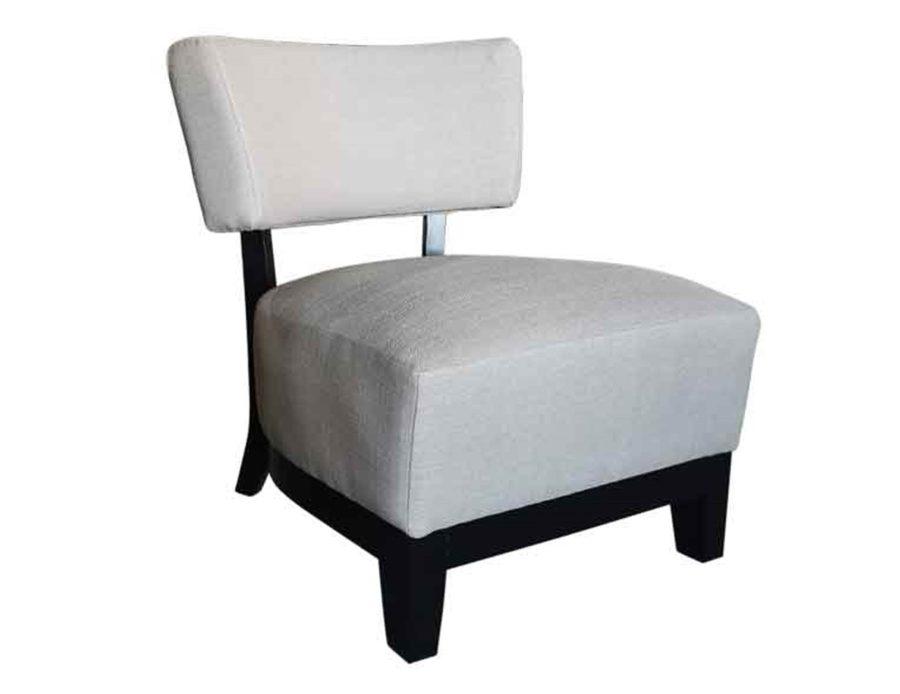 כורסא בוקלה צמר לבנה