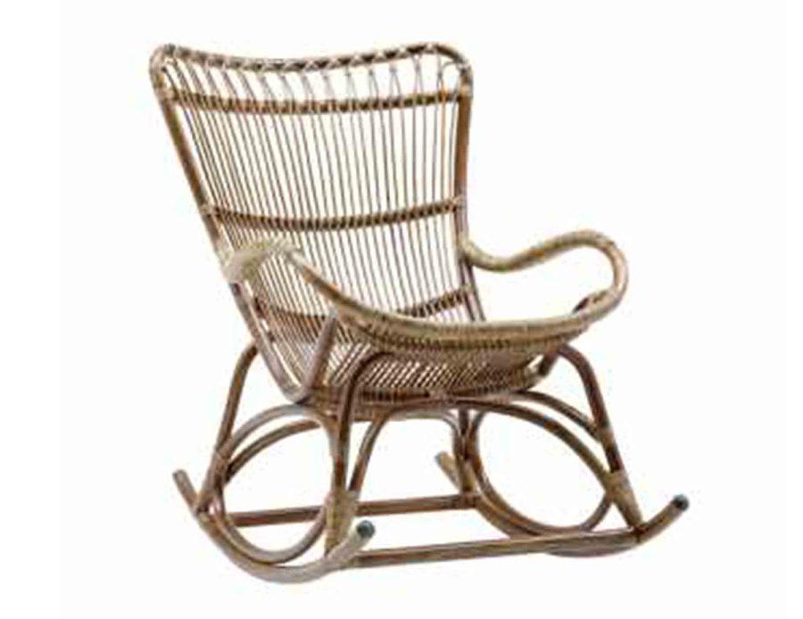 כיסא נדנדה ראטן Monet ענתיק אופ כרית