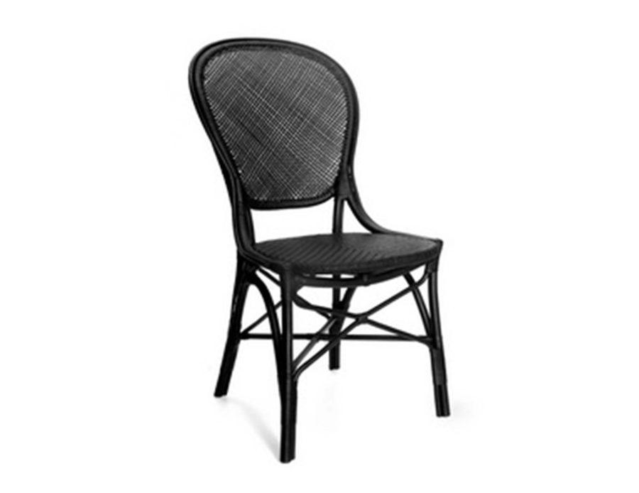 כיסא ראטן שחור מראטן