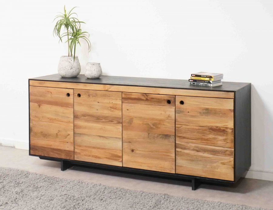 מזנון עץ מעוצב לסלון
